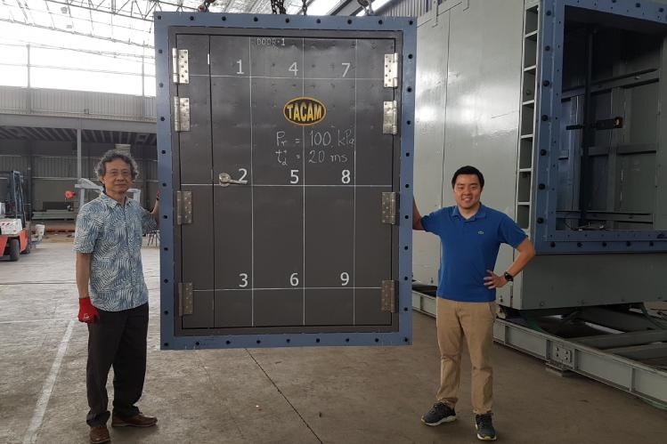 Steel Door Contractors | Tacam Steel
