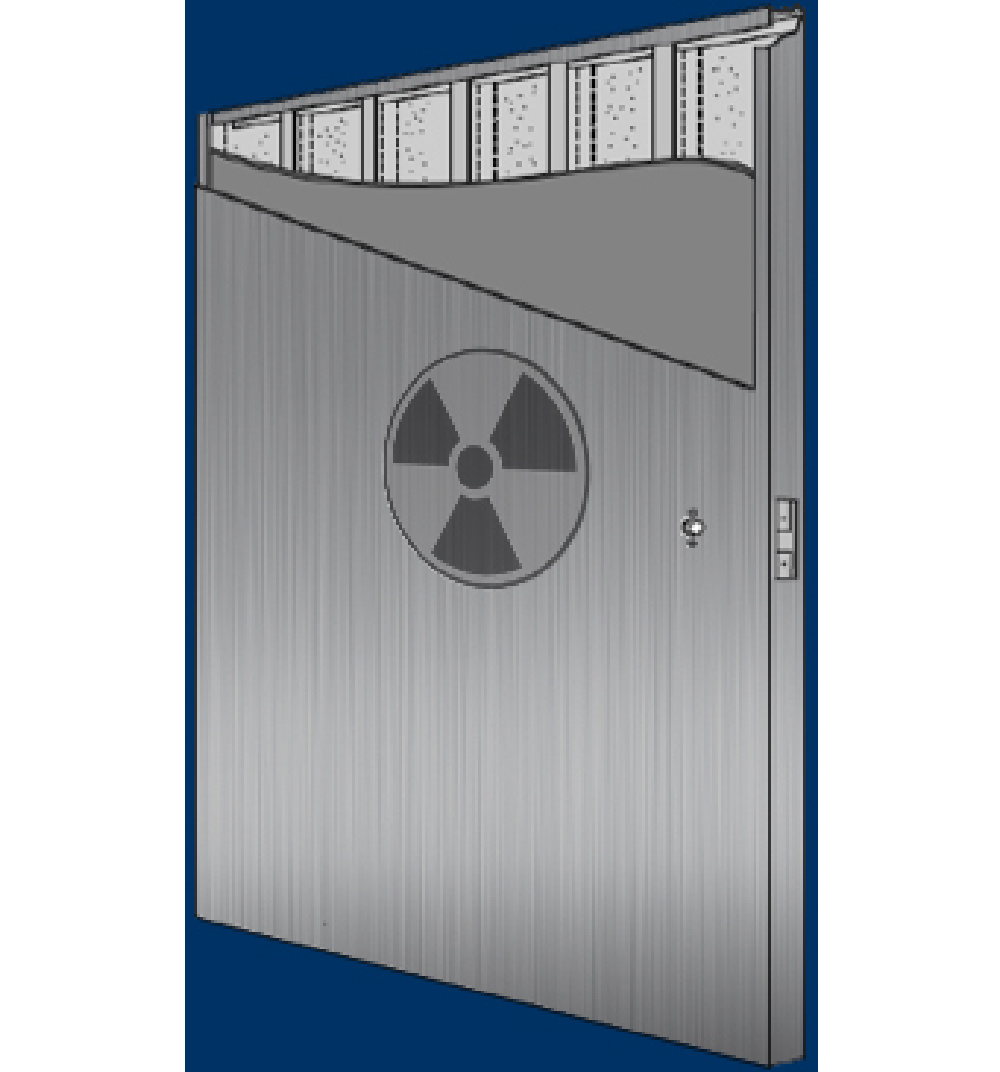 radiation door