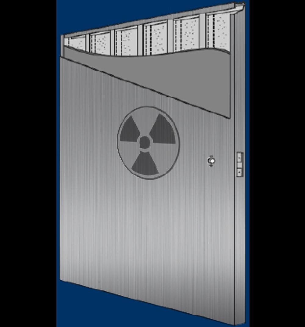 radiation door